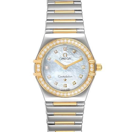 Photo of Omega Constellation My Choice Steel Yellow Gold Diamond Watch 1376.71.00