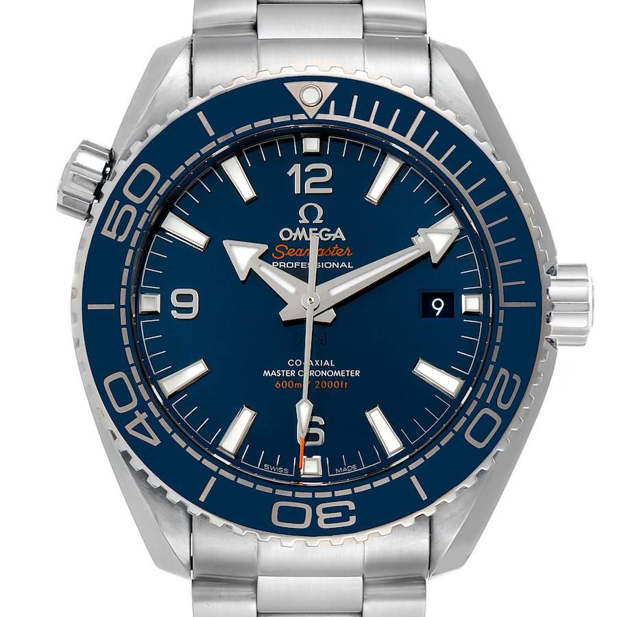 Omega Seamaster Planet Ocean Steel Mens Watch 215.30.44.21.03.001 SwissWatchExpo