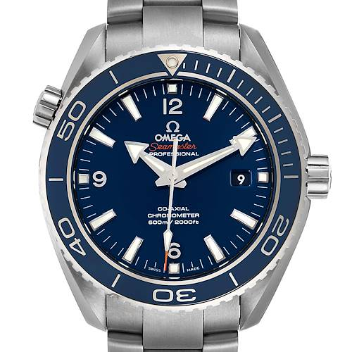 Photo of Omega Seamaster Planet Ocean Titanium Watch 232.90.46.21.03.001 Box Card