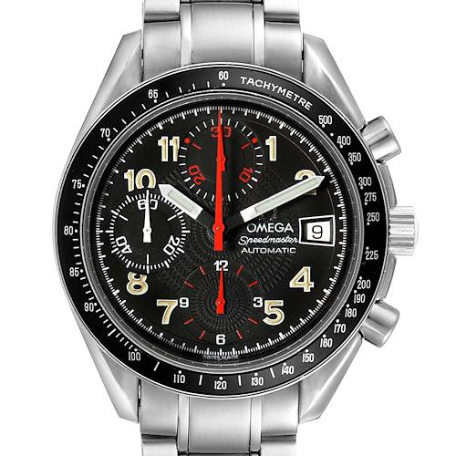 Photo of Omega Speedmaster Japanese Market Limited Edition Mens Watch 3513.53.00 Card