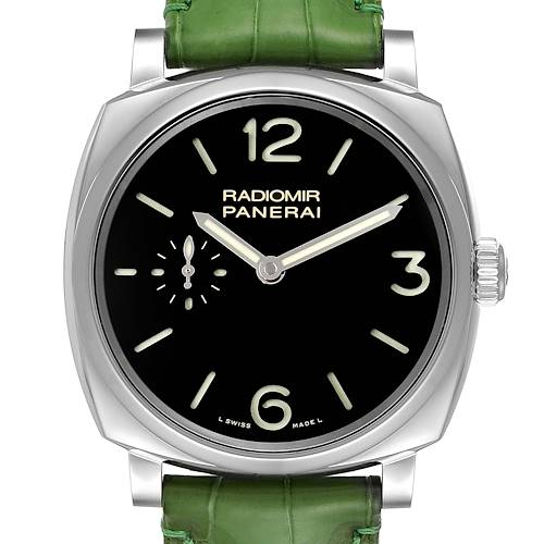 Photo of Panerai Radiomir Black Dial 3 Days 42mm Steel Mens Watch PAM00574
