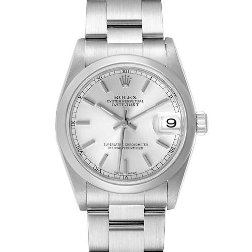 Photo of Rolex Datejust 31 Midsize Silver Dial Steel Ladies Watch 78240