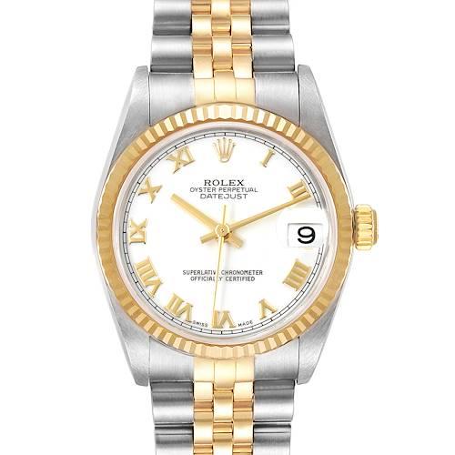 Photo of Rolex Datejust Midsize Steel Yellow Gold Ladies Watch 78273
