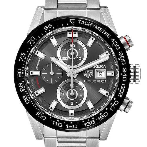 Photo of Tag Heuer Carrera Chronograph Automatic Mens Watch CAR201W