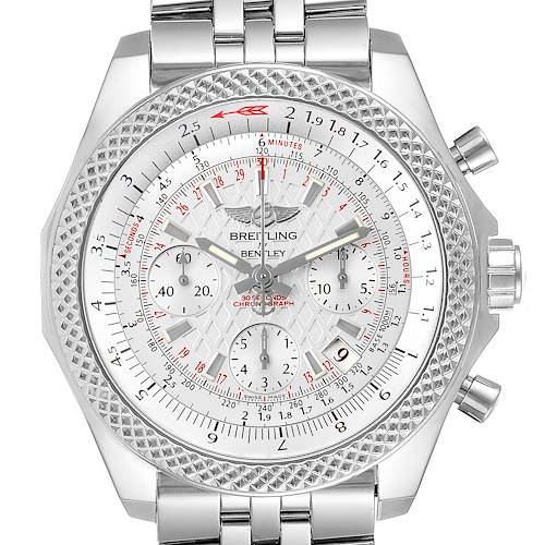 Photo of Breitling Bentley B06 Silver Dial Chronograph Watch AB0612 Box Papers