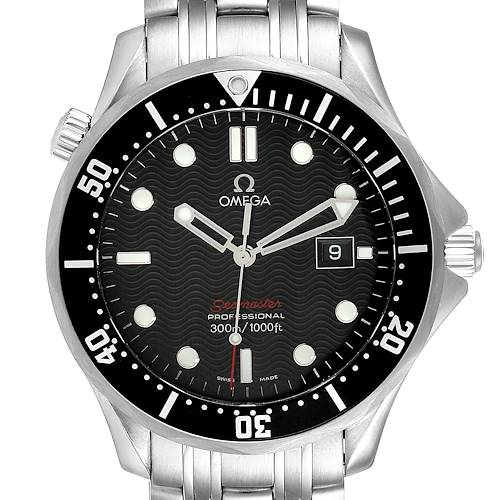 Photo of Omega Seamaster 300M Black Dial Steel Mens Watch 212.30.41.61.01.001