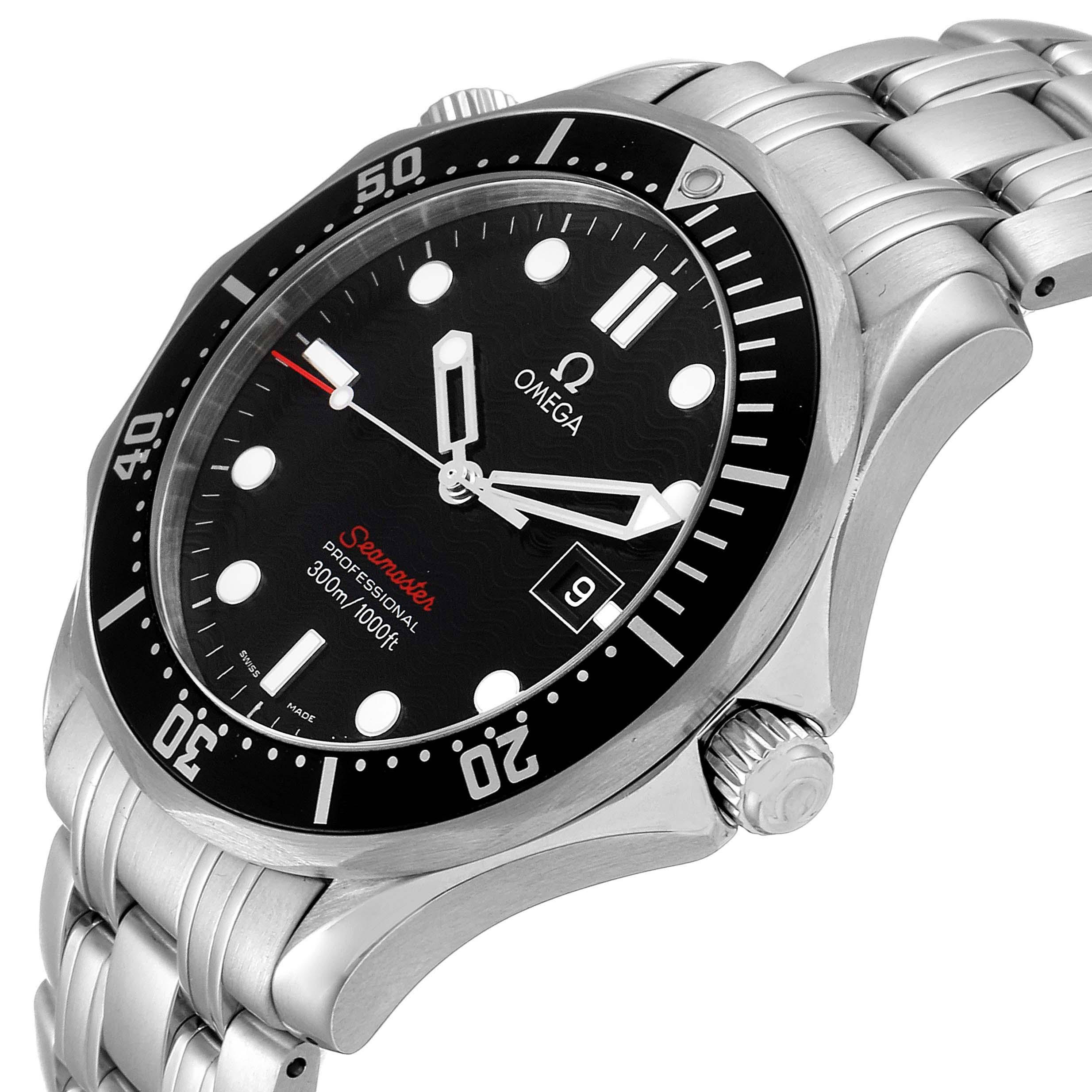 Omega Seamaster 300M Black Dial Steel Mens Watch 212.30.41.61.01.001 SwissWatchExpo