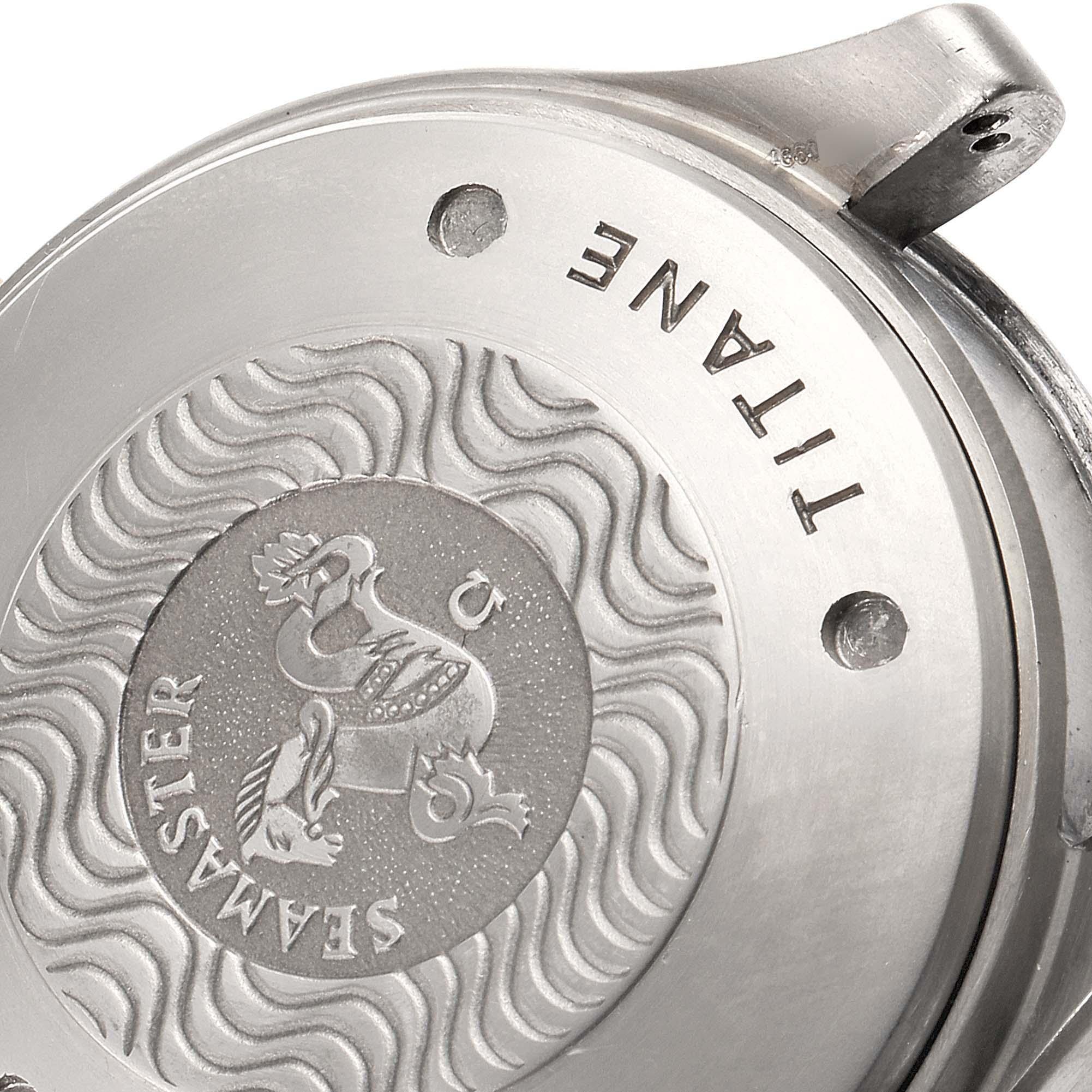 Omega Seamaster 41mm Titanium 18K Rose Gold Mens Watch 2296.80.00 SwissWatchExpo