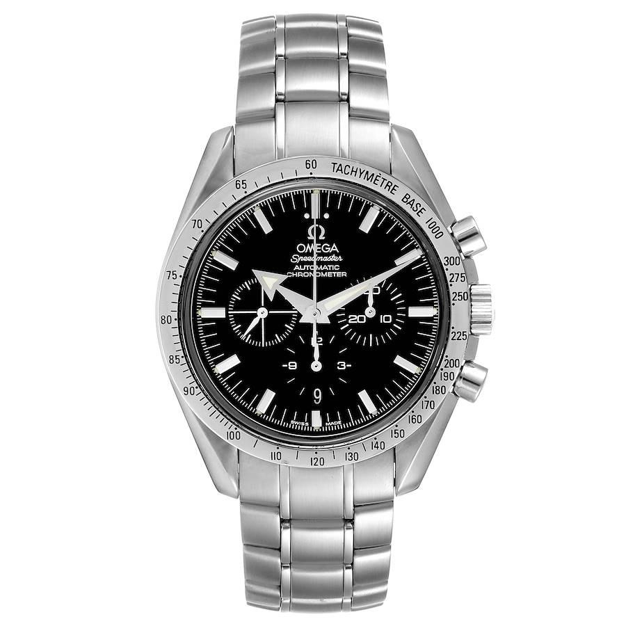 Omega Speedmaster Broad Arrow Chronograph Mens Watch 3551.50.00 Card SwissWatchExpo