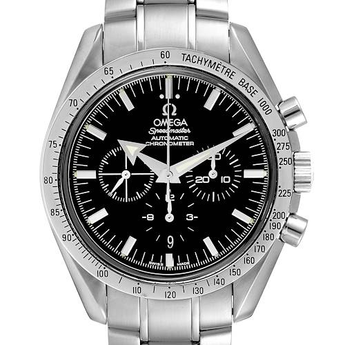Photo of Omega Speedmaster Broad Arrow Chronograph Mens Watch 3551.50.00 Card