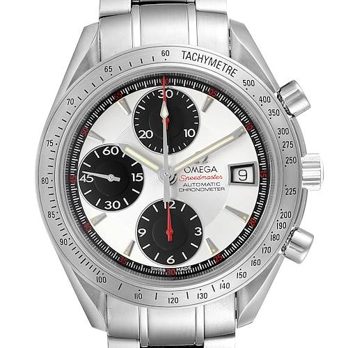 Photo of Omega Speedmaster Date Panda Dial Chronograph Mens Watch 3211.31.00