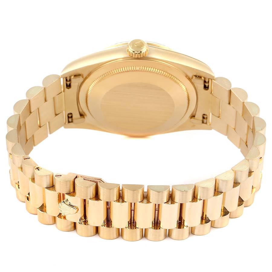 Rolex President Day-Date Yellow Gold Roman Dial Mens Watch 18238 SwissWatchExpo