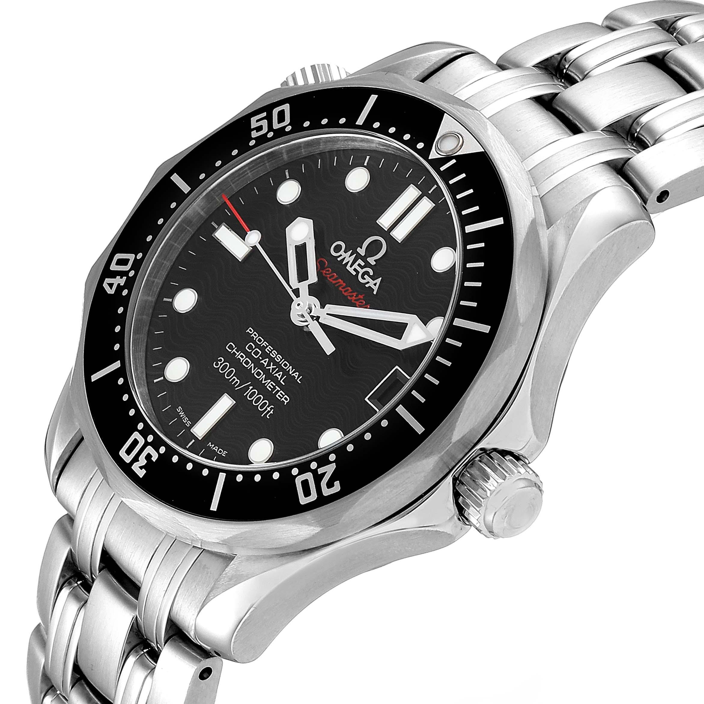 Omega Seamaster 300M Midsize 36 Mens Watch 212.30.36.20.01.001 Box Card SwissWatchExpo