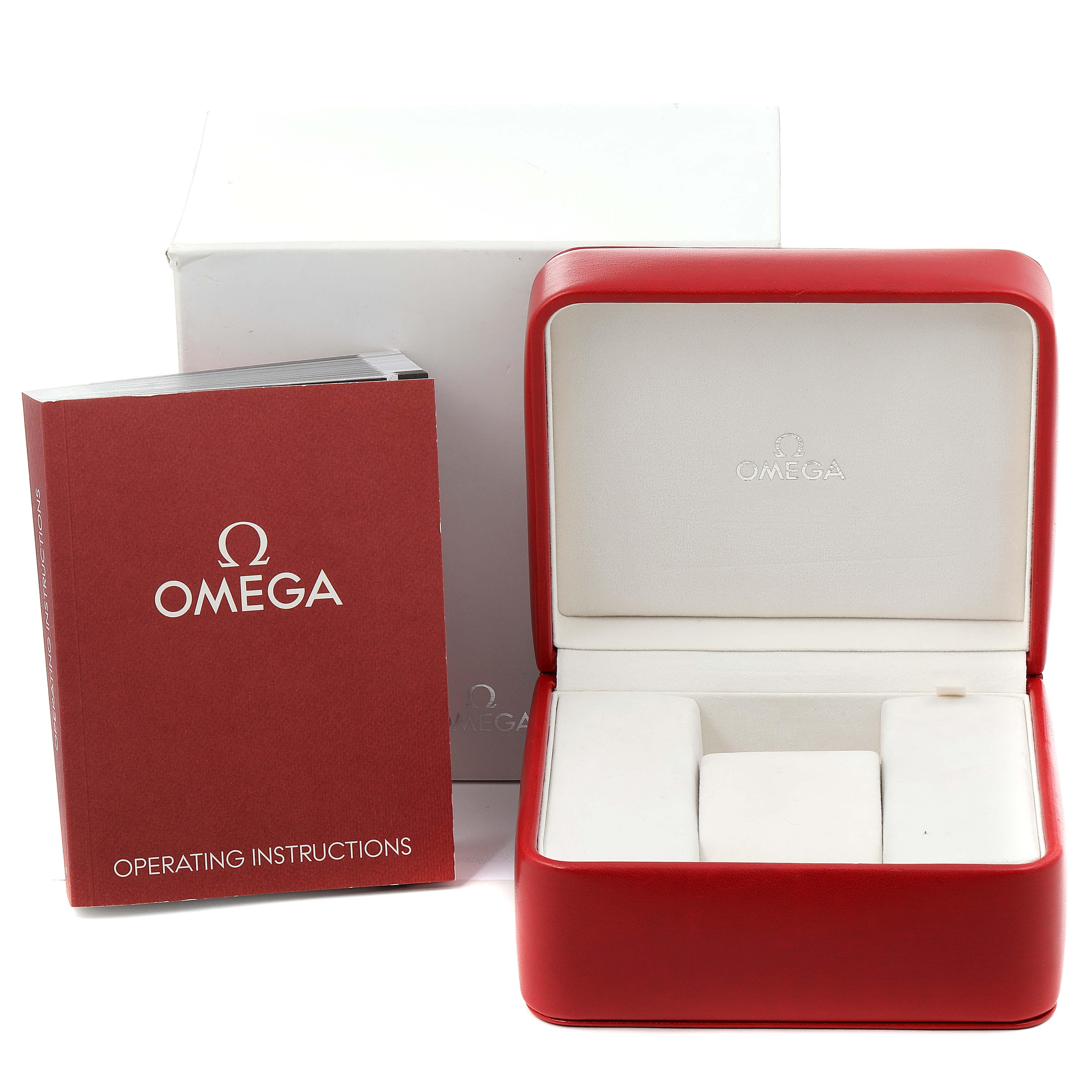 Omega Seamaster Planet Ocean Orange Bezel Watch 232.30.42.21.01.002 Box SwissWatchExpo