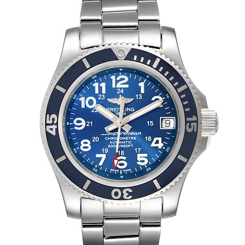 Photo of Breitling Superocean II 36 Hurricane Steel Ladies Watch A17312 Box Papers
