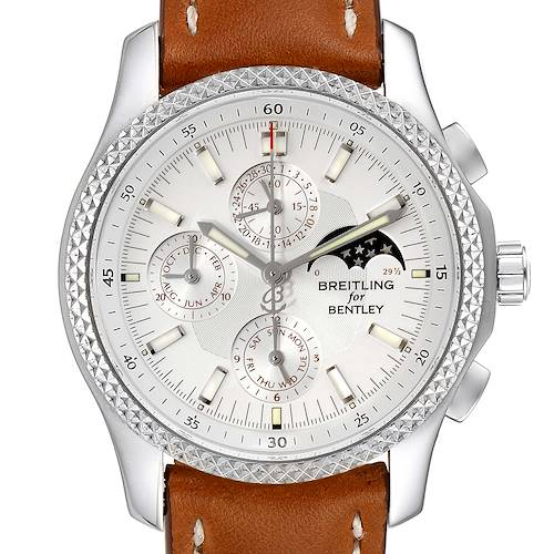 Photo of Breitling Bentley Mark VI Complications Steel Platinum Watch P19362