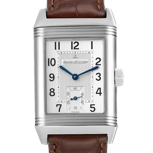 Photo of Jaeger LeCoultre Reverso Grande Taille Steel Mens Watch 270.8.62 Q3858520