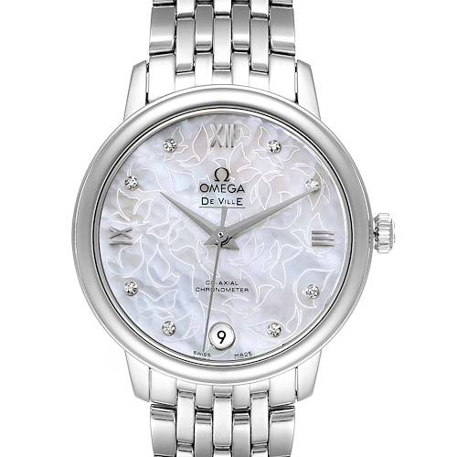 Omega DeVille Prestige Butterfly Diamond Watch 424.10.33.20.55.001 Unworn