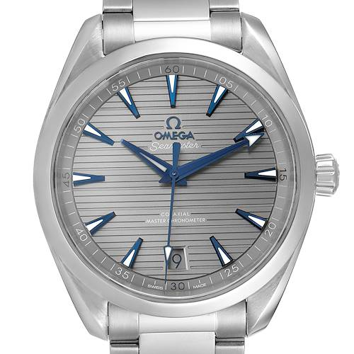 Omega Seamaster Aqua Terra Grey Dial Mens Watch 220.10.41.21.06.001