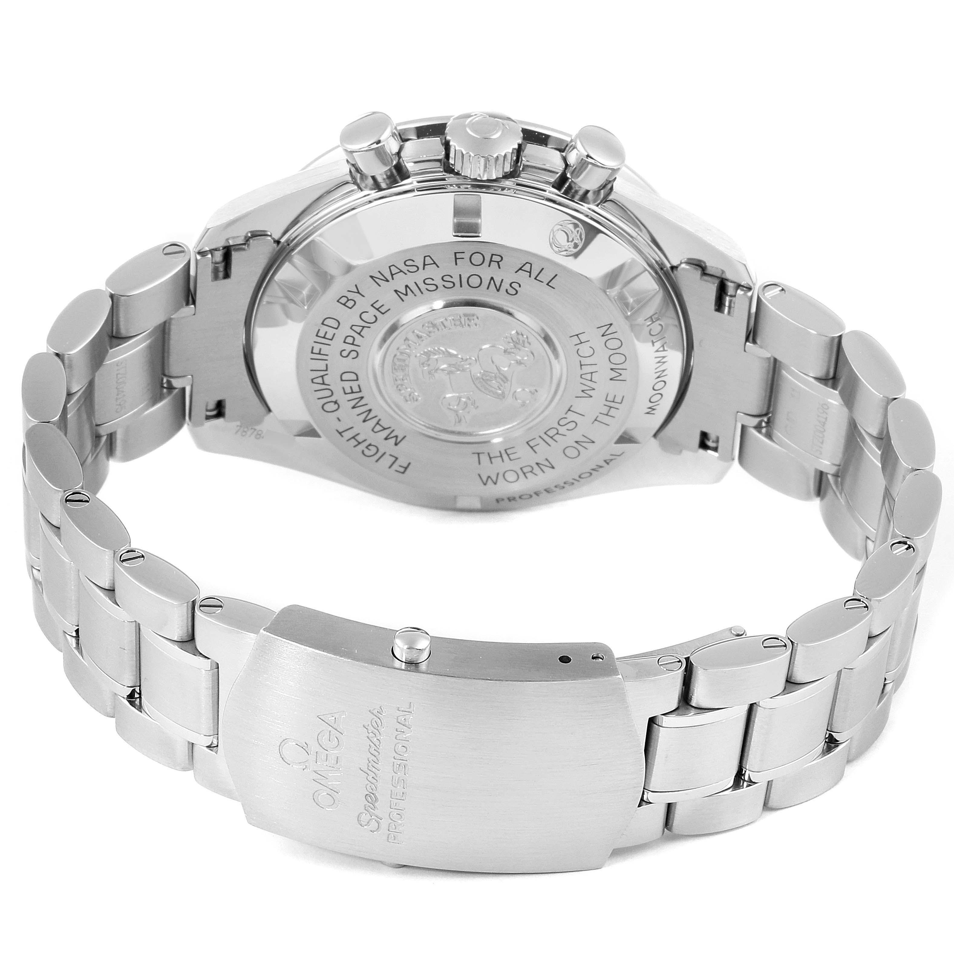 Omega Speedmaster Moonwatch Steel Watch 311.30.42.30.01.005 Box Card SwissWatchExpo