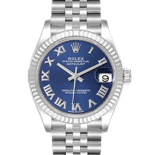 Photo of Rolex Datejust Midsize 31 Steel White Gold Diamond Watch 278274 Unworn