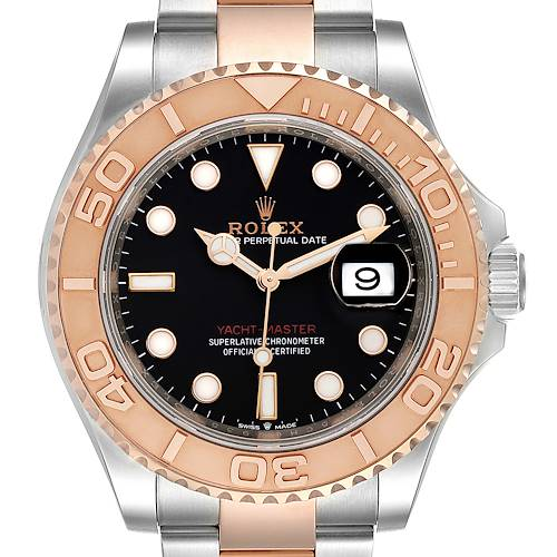 Photo of Rolex Yachtmaster Everose Gold Steel Rolesor Mens Watch 126621 Box Card