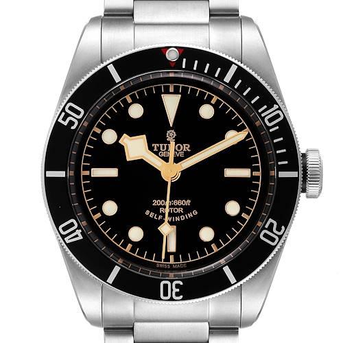 Photo of Tudor Heritage Black Bay Black Dial Automatic Mens Watch 79220 Unworn