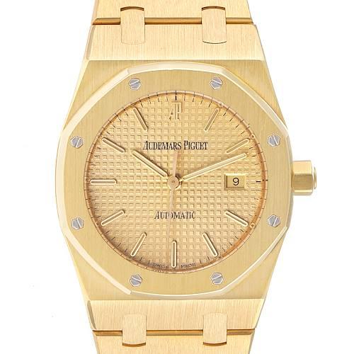 Photo of Audemars Piguet Royal Oak 18k Yellow Gold Mens Watch 15000BA