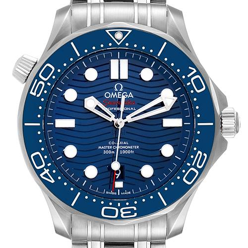 Photo of Omega Seamaster Co-Axial 42mm Mens Watch 210.30.42.20.03.001 Box Card