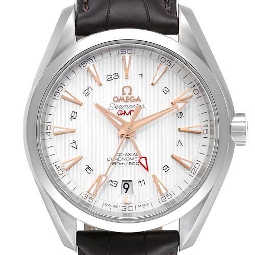 Photo of Omega Seamaster Aqua Terra GMT Co-Axial Watch 231.13.43.22.02.004 Unworn