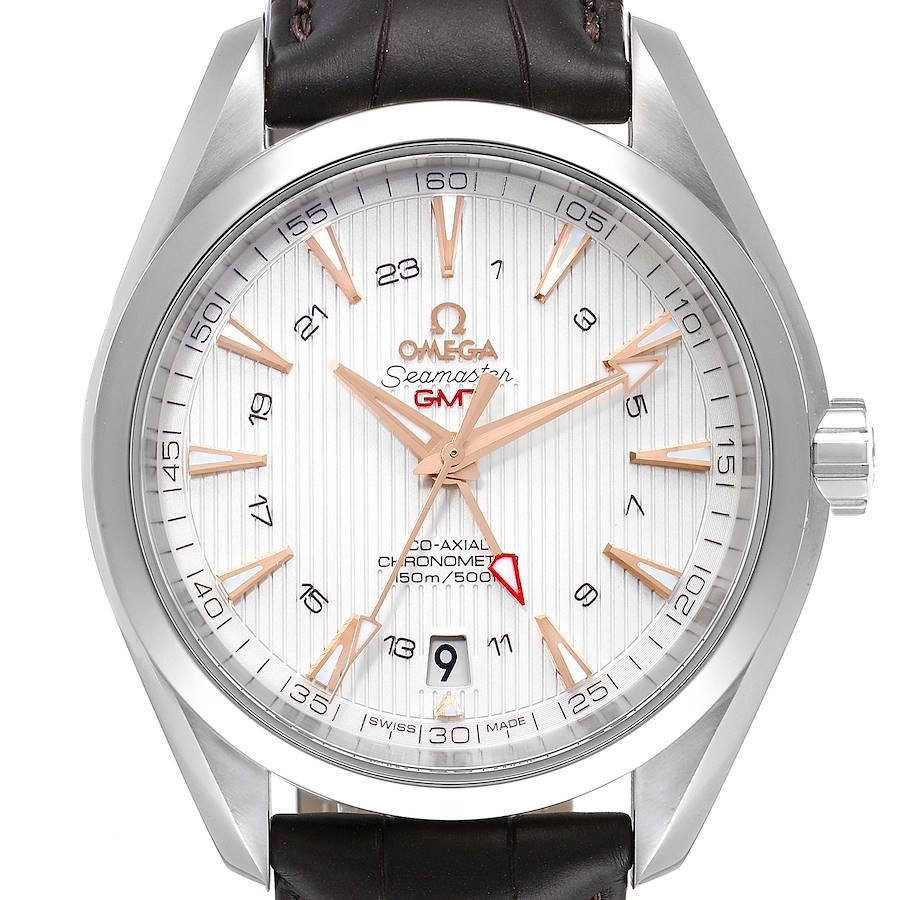 Omega Seamaster Aqua Terra GMT Co-Axial Watch 231.13.43.22.02.004 Unworn SwissWatchExpo