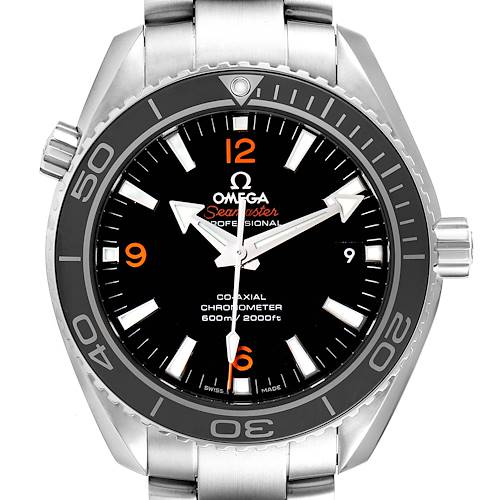 Photo of Omega Seamaster Planet Ocean 600M Steel Watch 232.30.42.21.01.003 Box Card