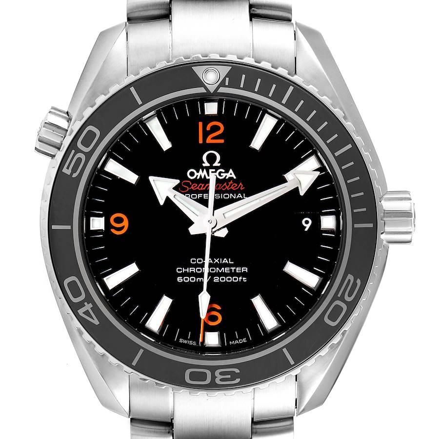 Omega Seamaster Planet Ocean 600M Steel Watch 232.30.42.21.01.003 Box Card SwissWatchExpo