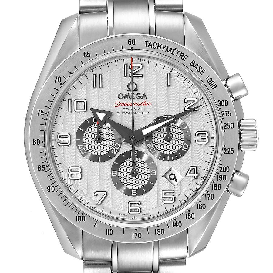 Omega Speedmaster Broad Arrow Steel Watch 321.10.44.50.02.001 Box Card SwissWatchExpo