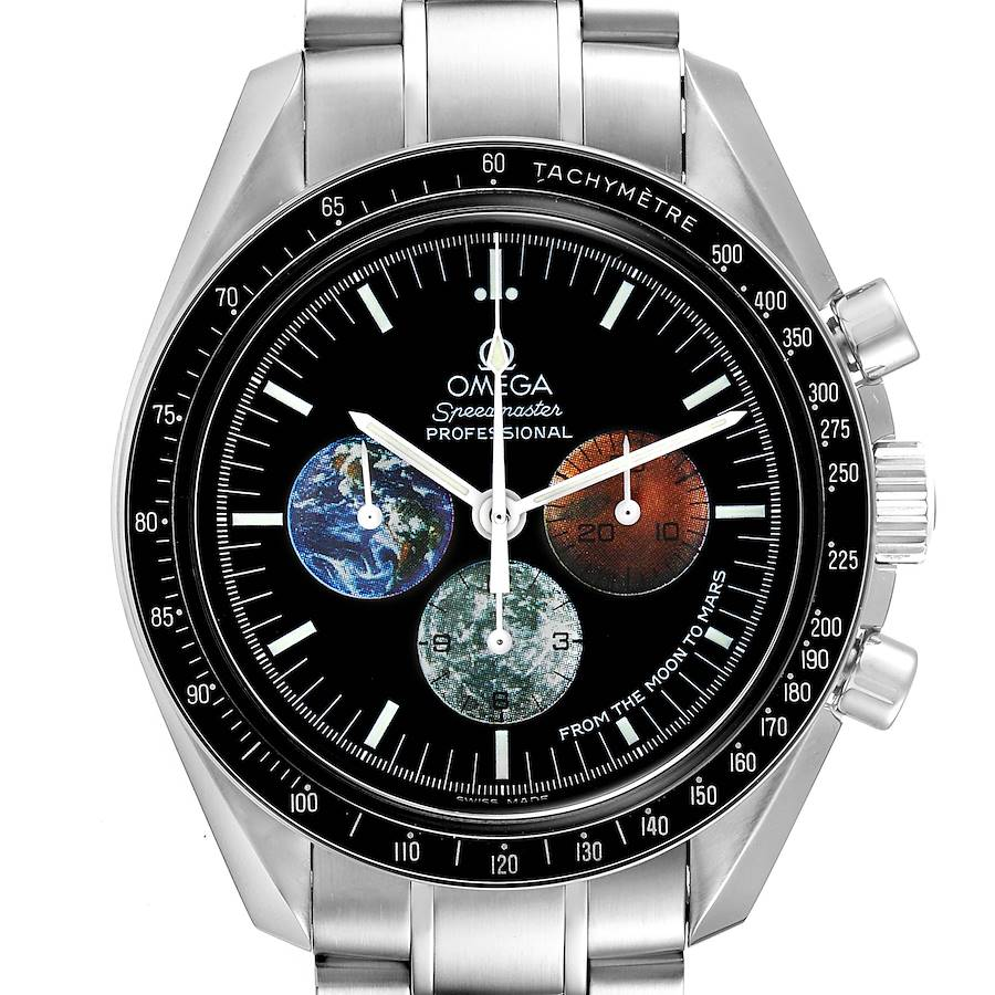 Omega Speedmaster Limited Edition Moon to Mars Watch 3577.50.00 SwissWatchExpo