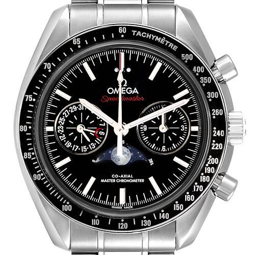Photo of Omega Speedmaster Moonphase Chronograph Watch 304.30.44.52.01.001 Box Card