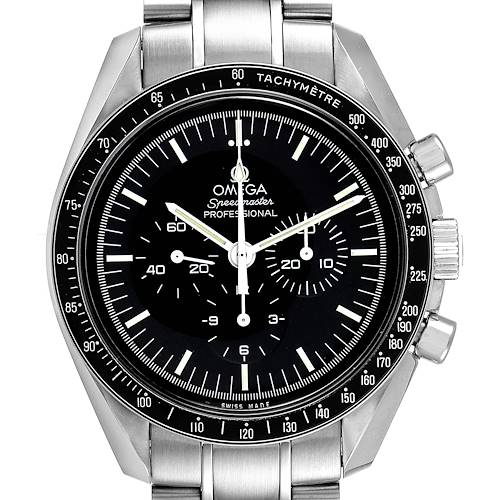 Photo of Omega Speedmaster Moonwatch Steel Mens Watch 311.30.42.30.01.005 Box Card