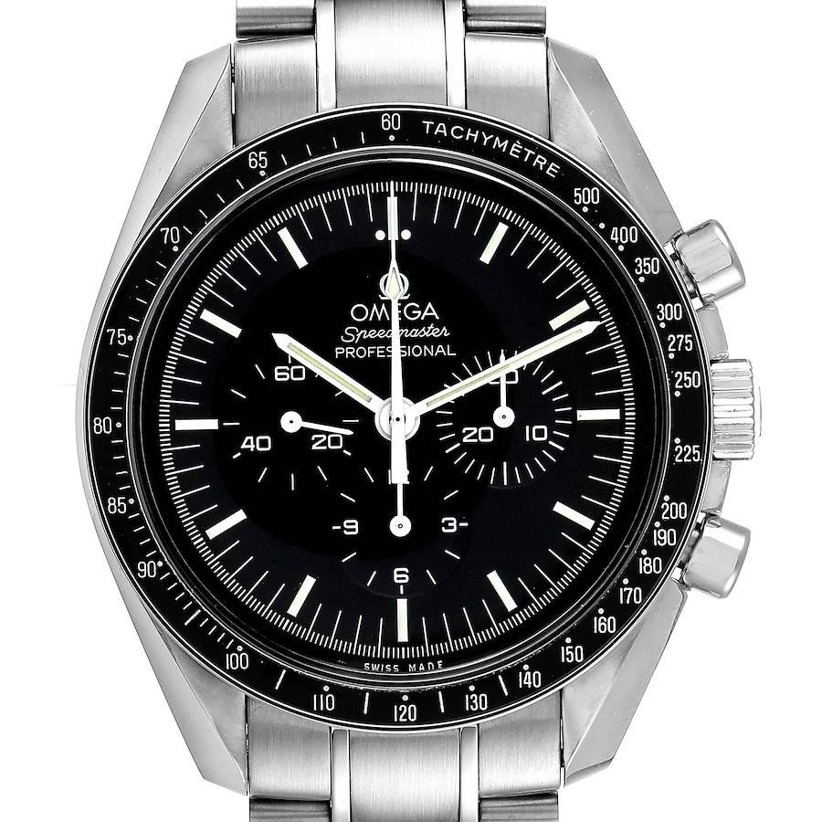 Omega Speedmaster Moonwatch Steel Mens Watch 311.30.42.30.01.005 Box Card SwissWatchExpo