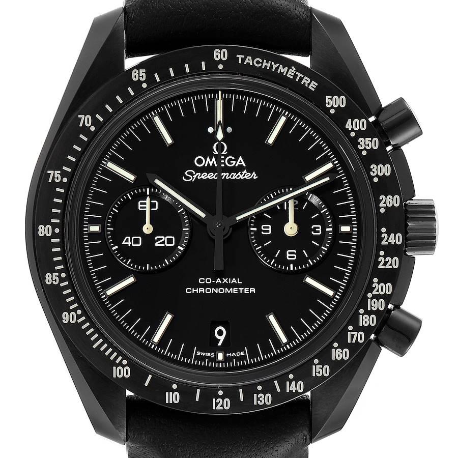 Omega Speedmaster Pitch Dark Side of the Moon Watch 311.92.44.51.01.004 Unworn SwissWatchExpo