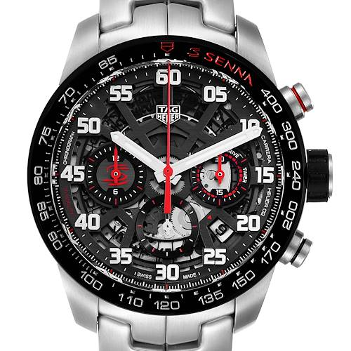 Photo of Tag Heuer Carrera Senna Special Edition Chronograph Watch CBG2013