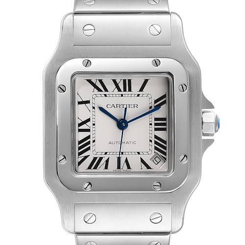 Photo of Cartier Santos Galbee XL Automatic Steel Unisex Watch W20098D6