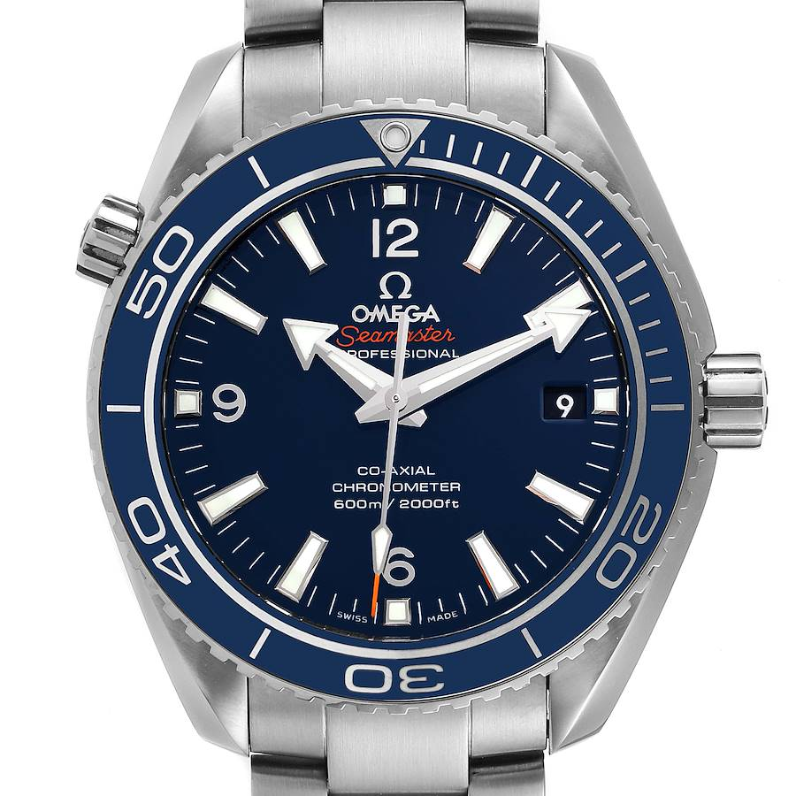 Omega Seamaster Planet Ocean 42mm Watch 232.90.42.21.03.001 Box Card SwissWatchExpo