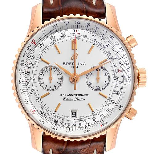 Photo of Breitling Navitimer 125th Anniversary LE Mens Watch A26322 Box Papers