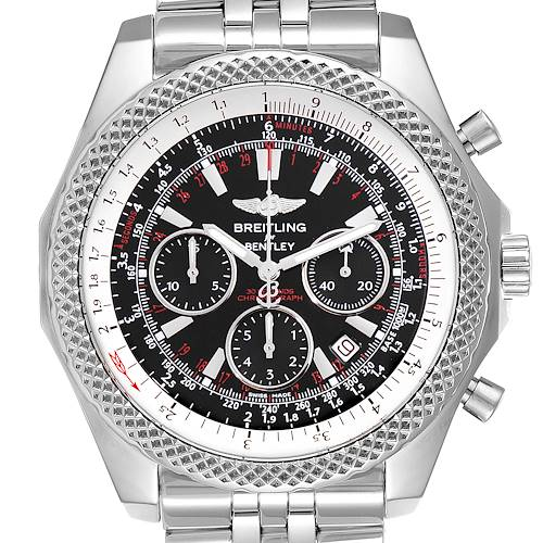 Photo of Breitling Bentley Motors Special Edition Chronograph Mens Watch A25364 Box Papers