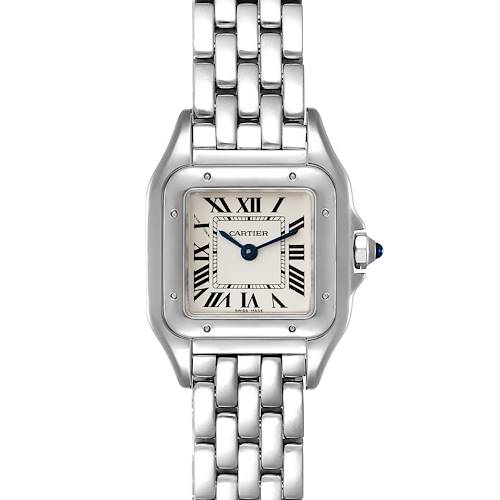 Photo of Cartier Panthere Midsize 22mm Steel Ladies Watch WSPN0006 Box