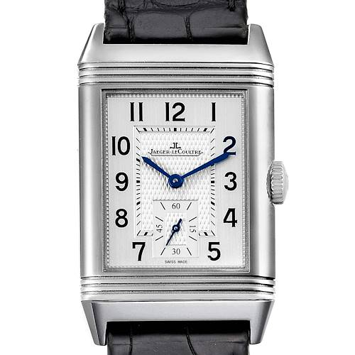 Photo of Jaeger LeCoultre Reverso Classic Mens Watch 214.8.62 Q3858520 Box Papers