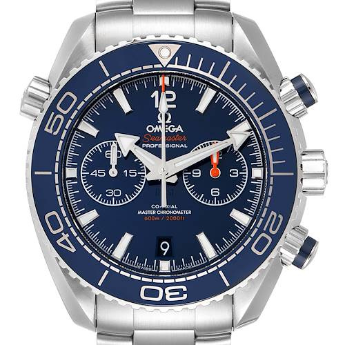 Photo of Omega Planet Ocean Blue Dial Mens Watch 215.30.46.51.03.001 Box Card