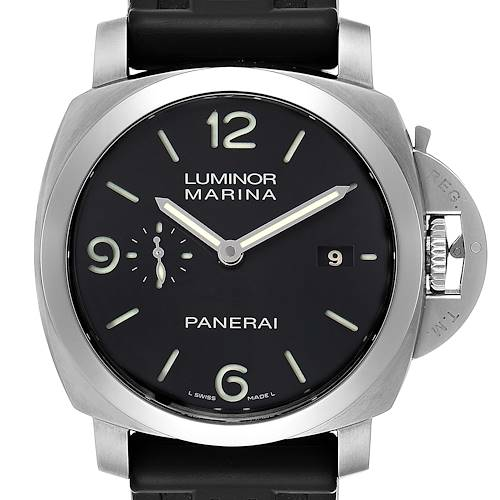 Photo of Panerai Luminor 1950 Marina Mens 44mm Watch PAM00312 Box Papers