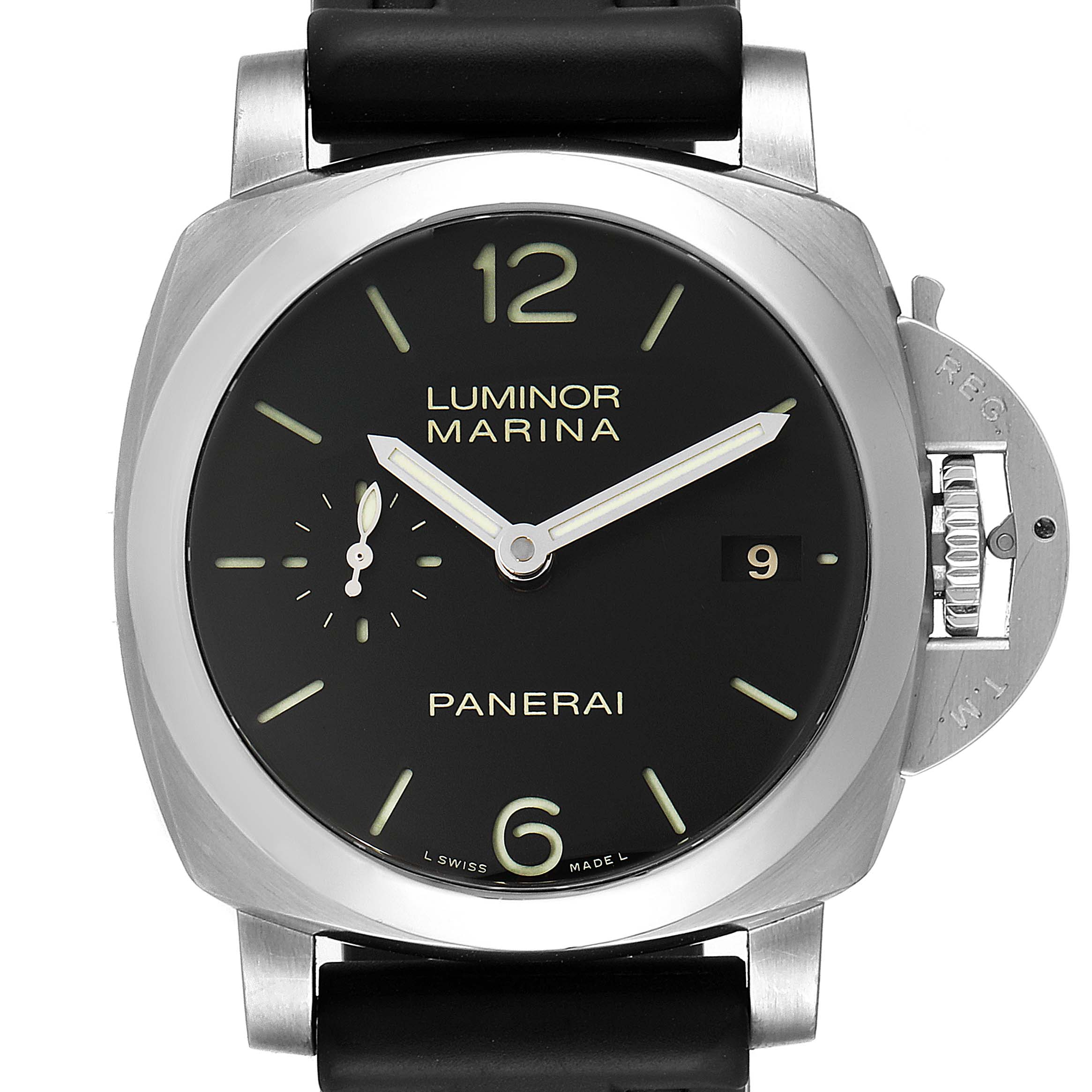Panerai Luminor Marina 1950 3 Days 42mm Mens Watch PAM00392 Box SwissWatchExpo