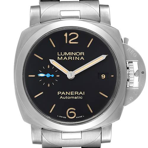 Panerai Luminor Marina 1950 3 Days 42mm Steel Watch PAM00722 Box Papers